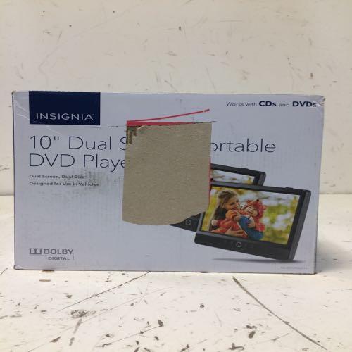 Insignia Ns-dd10pdvd19  10 Inch Dual Screen Portable Dvd Player