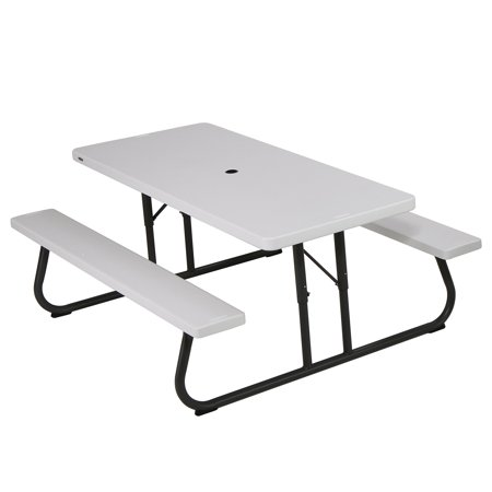 Lifetime 80215 picnic table  size 6ft white