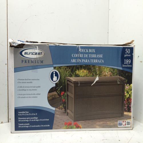 Suncast DB5000B Deck Storage Box