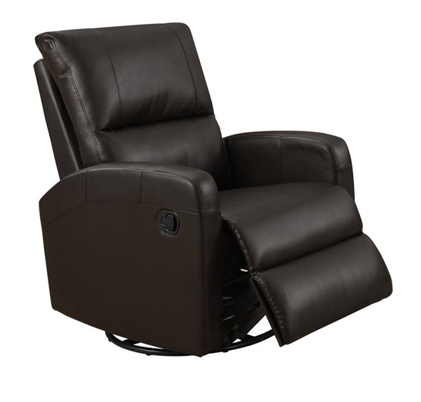 Monarch I88BR R Leather Reclining Chair