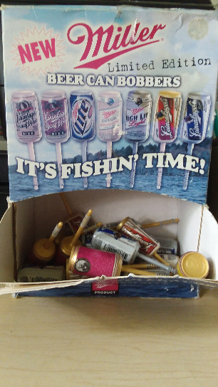 FISHING BEER CAN BOBBERS