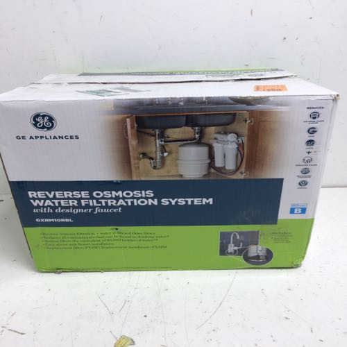Ge 9XRM0RBL Reverse Osmosis Water Filtration System