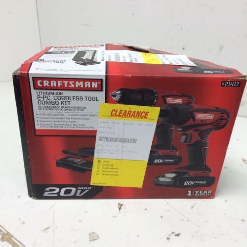 Craftsman 921417 Cordless Tool Combo Kit