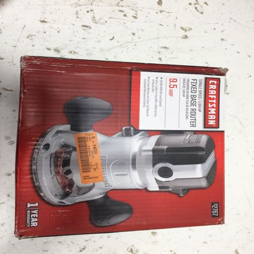 Craftsman 92767 Fixed Base Router
