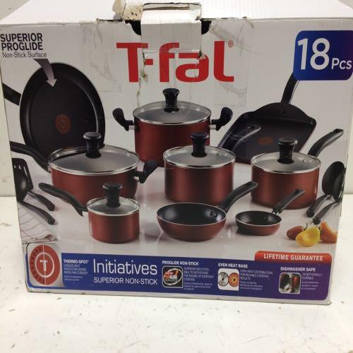 T-fal B165SI64 18pc Non Stick Pot/pan Set