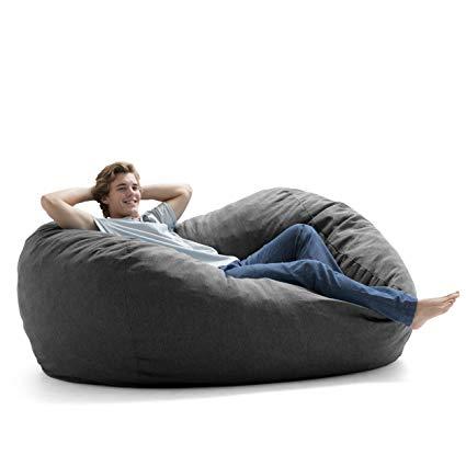 Foam Filled Chair  Grey