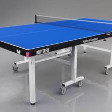 National League table tennis table with net