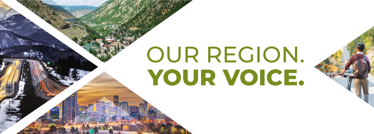 Our Region. Your Voice. Images of the region.