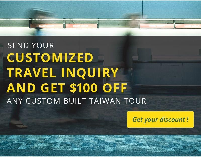 MyTaiwanTour Landing Page
