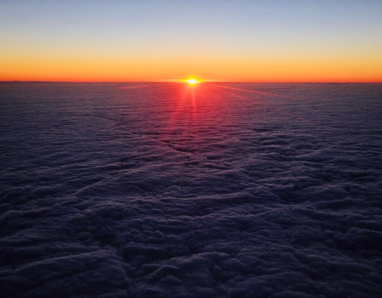 Only on Jan 1, 2019 Taiwan New Year First Dawn Flight