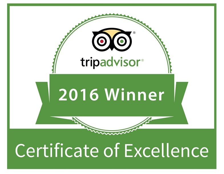 MyTaiwanTour Travel Service AWARDED 2016 TRIPADVISOR CERTIFICATE OF EXCELLENCE