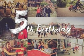Celebrate with us: MyTaiwanTour's 5th Birthday!