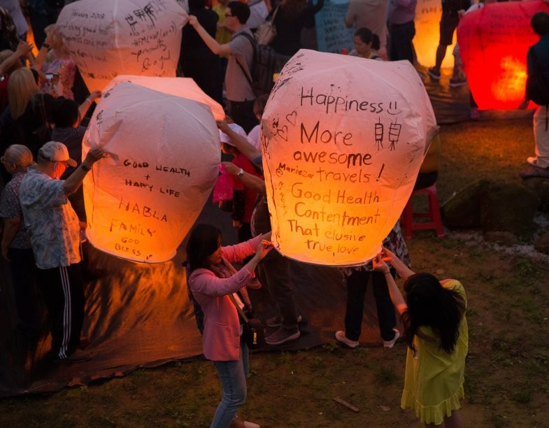 Only on Sep 22nd! 2018 Mid-Autumn Pingxi Sky Lantern Festival!