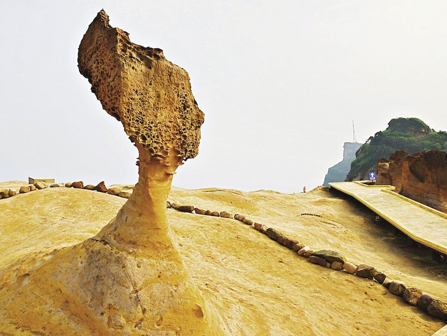 Yehliu Geopark Queen's Head