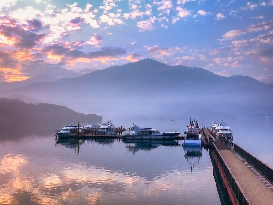 Be enchanted by the scenery and culture of Sun Moon Lake