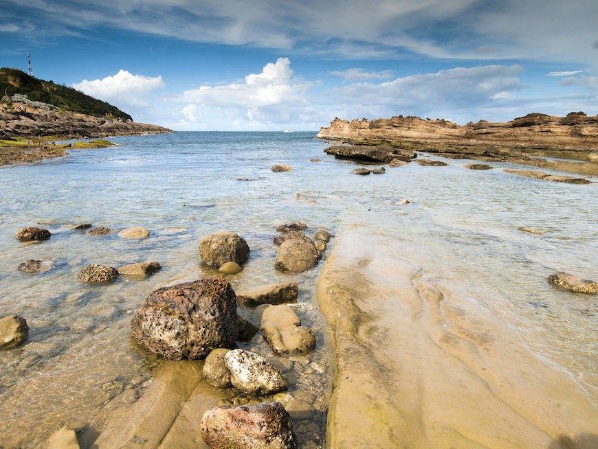 Yeliou Geopark seascape