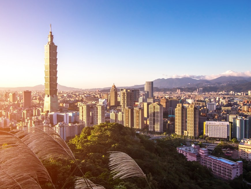 Iconic Taipei 101.