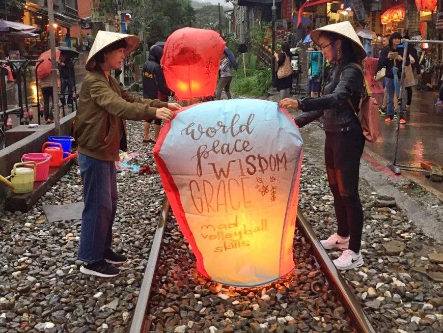 Create and launch your sky lantern.