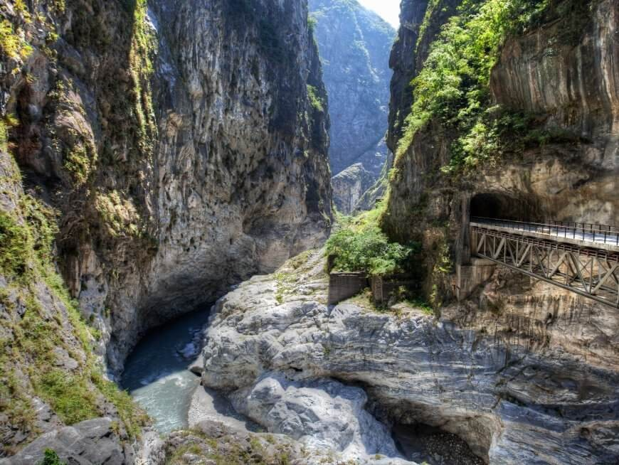 Majestic Taroko Gorge