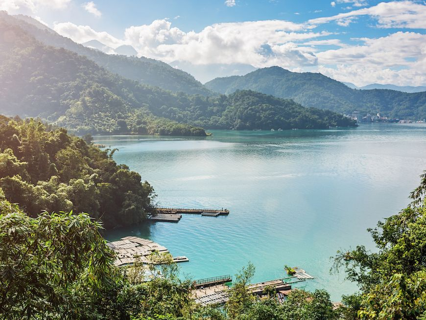 Be enchanted, inspired and awed by the beauty of Sun Moon Lake