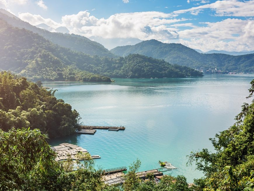 Sun Moon Lake is Taiwan's most visited attraction