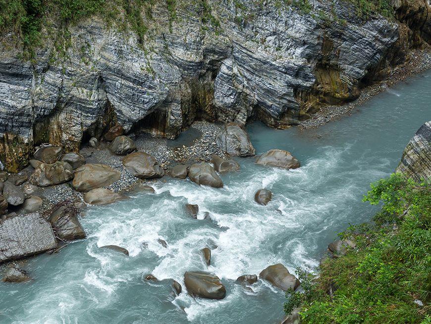 Enjoy clear river