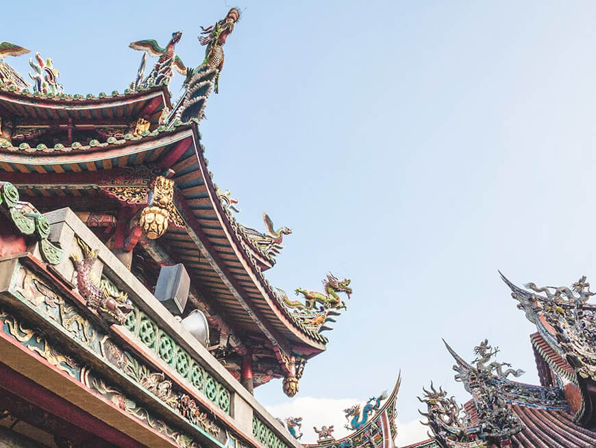 Mingle with worshipers at Longshan, among Taipei's oldest temples