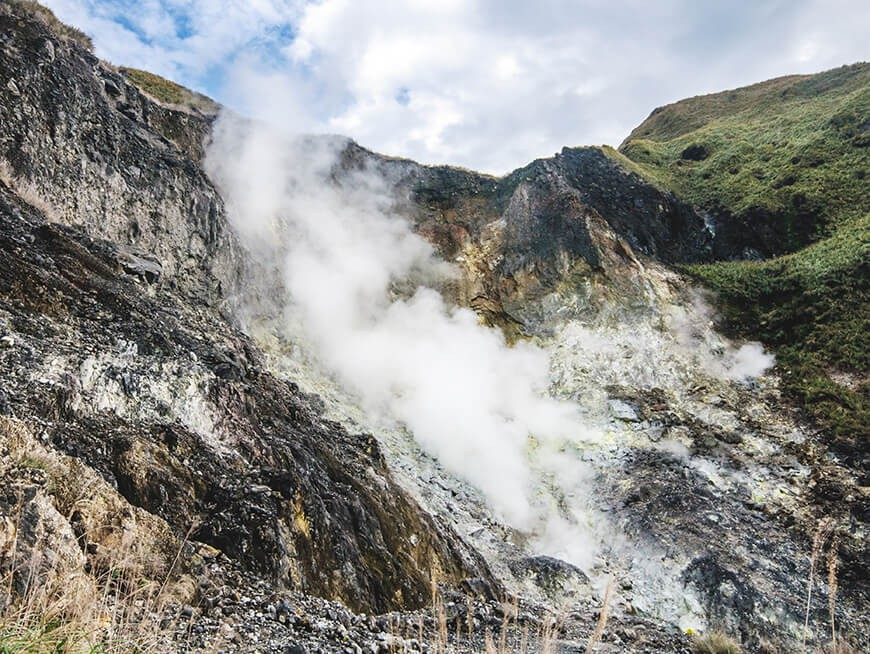 Hike through the ethereal volcanic beauty of Yamingshan National Park