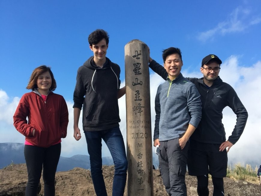 Climb to the top of two peaks, including Taipei's tallest mountain