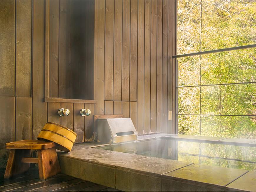 90 minute hot spring soak