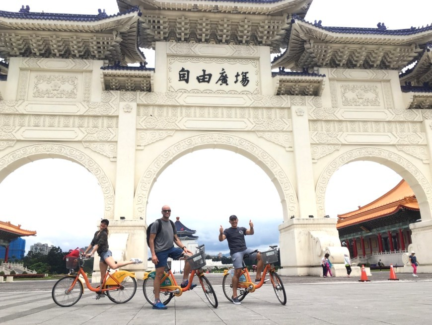 Get into the perpetual motion of Taipei