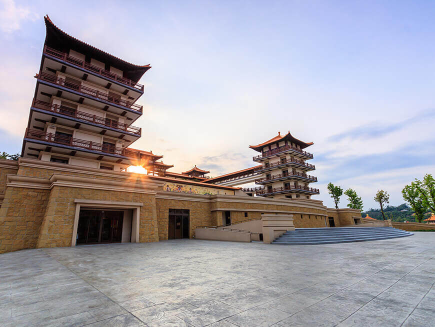 Visit Fo Guang Shan Buddha Memorial Center