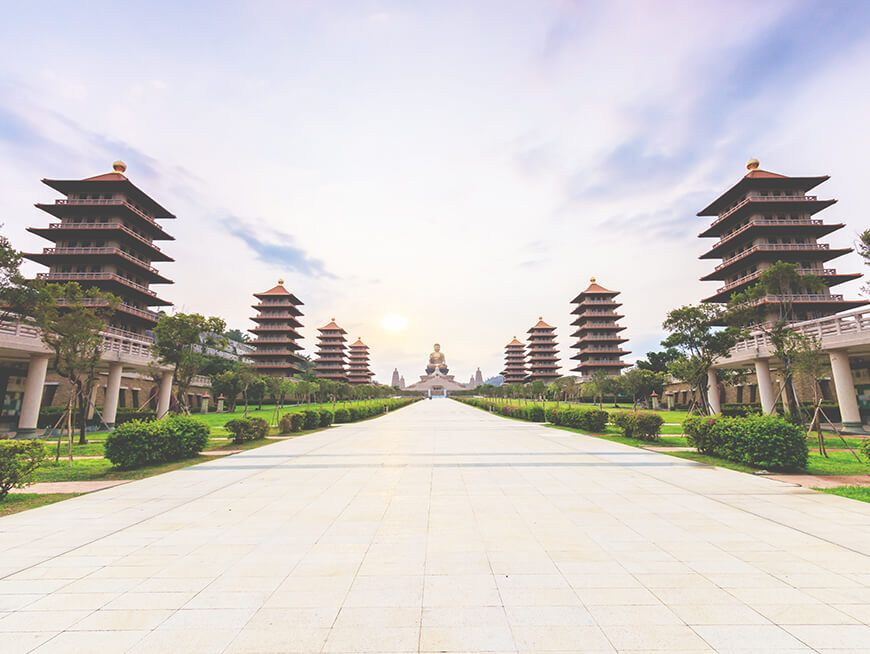 Spiritual discovery at the Fo Guang Shan Buddhist Center