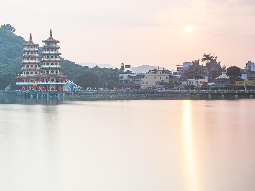 Explore the temples of Lotus Pond and artwork of Fongyi Academy