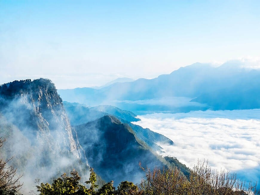 Witness the Sea of Clouds at Alishan National Scenic Area
