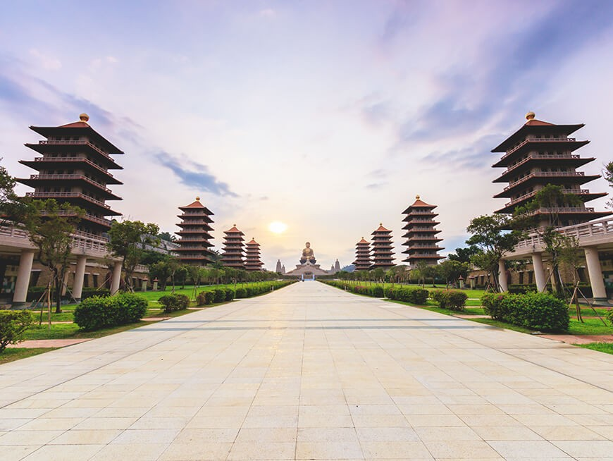 Exploration of Taiwan's largest Buddhist monastery