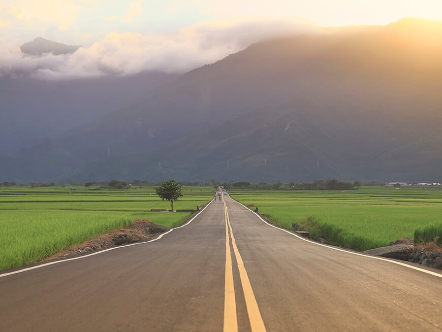 Drive on the scenic Highway 9 through the bucolic East Rift Valley
