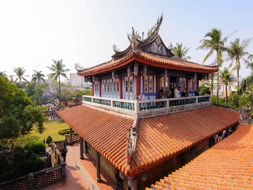 台南赤崁楼(オランダ統治時代の文化遺産)