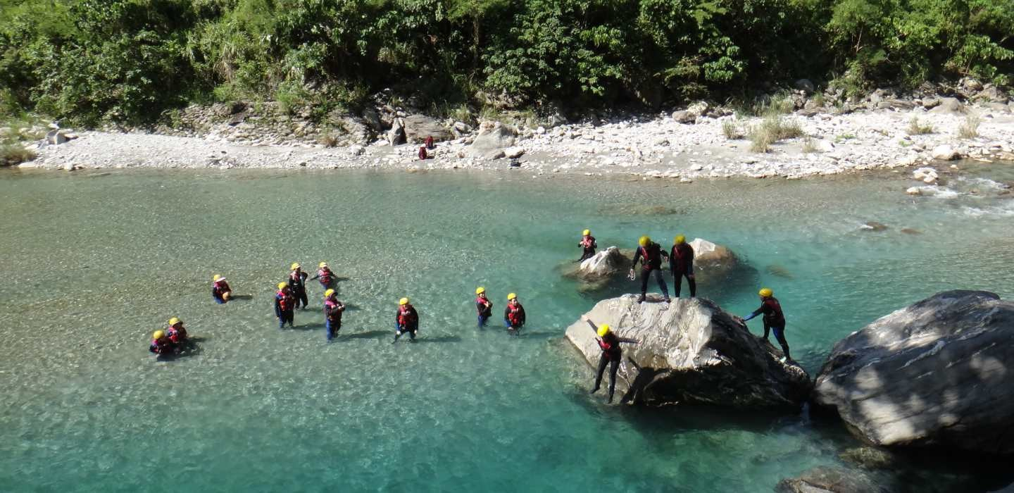 2-day River Tracing Adventure in Hualien