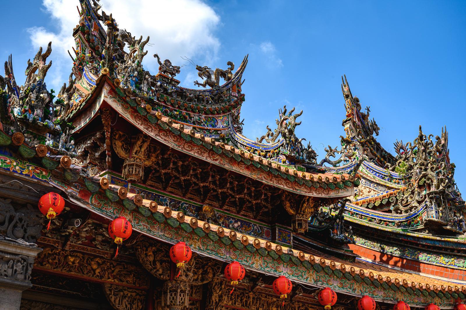 Qingshui Zushi Temple in Sanxia