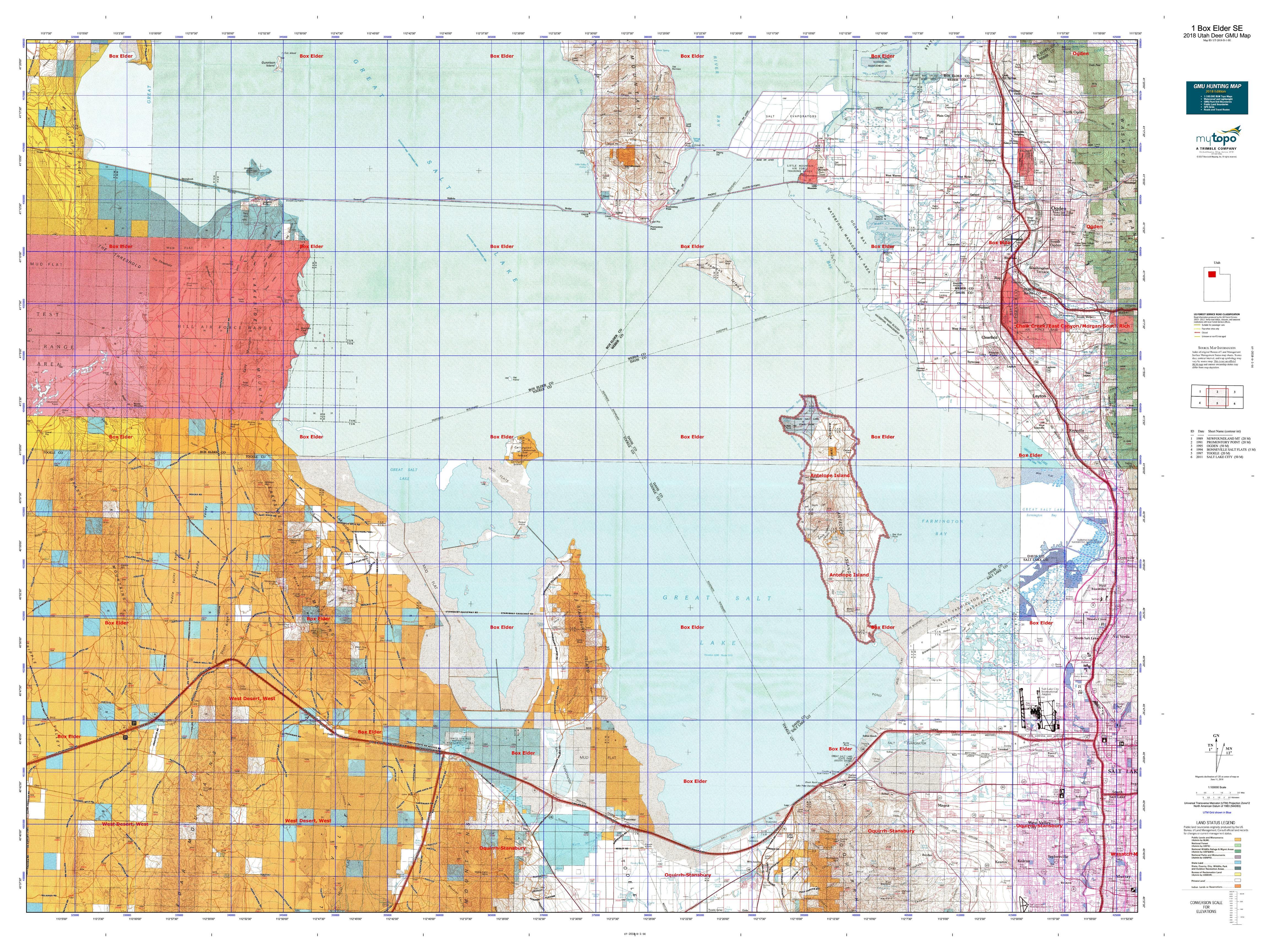 1 Box Elder SW Map   MyTopo