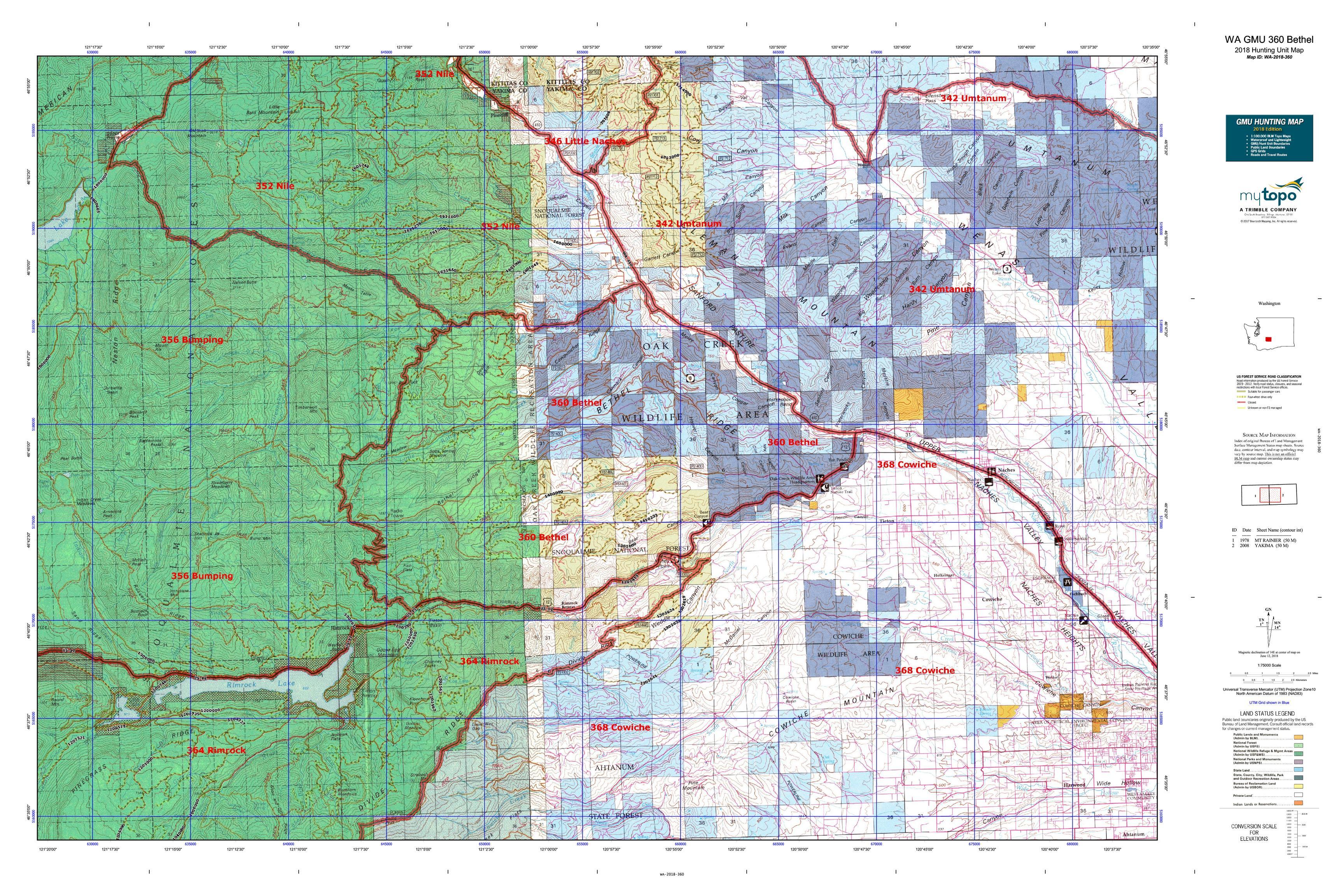 Maps 360.Wa Gmu 360 Bethel Map Mytopo