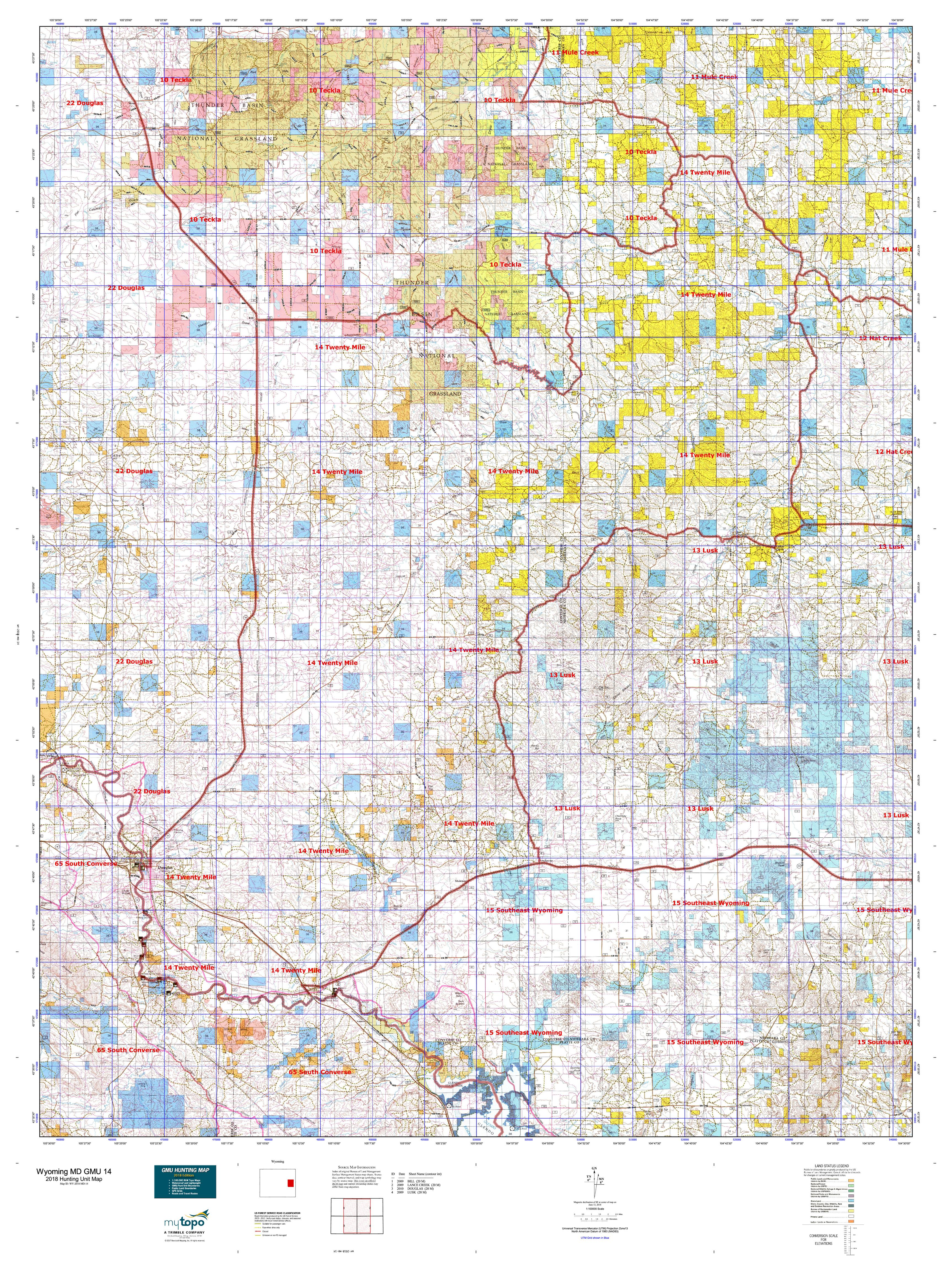 Wyoming Elk Unit Map election interactive map map of wrigley field