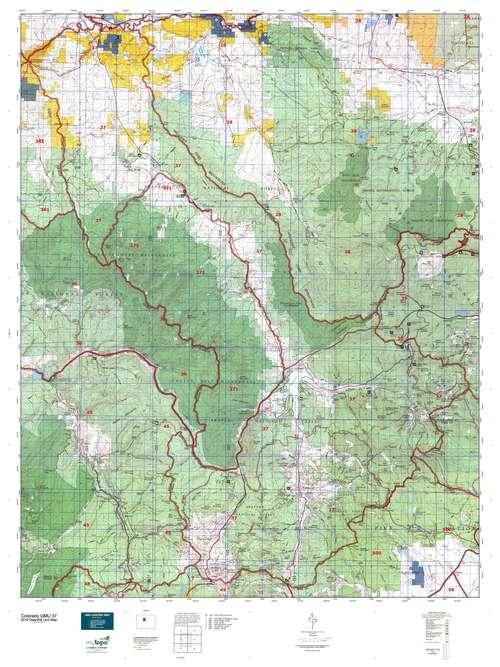 Colorado GMU 37 Map  MyTopo