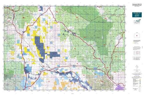 Colorado GMU 50 Map  MyTopo