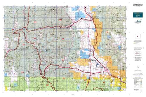 Colorado GMU 56 Map  MyTopo