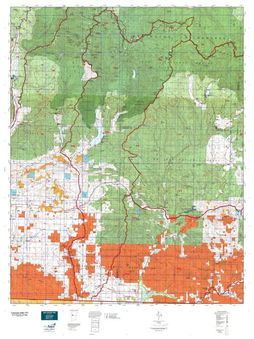 Colorado GMU 751 Map  MyTopo