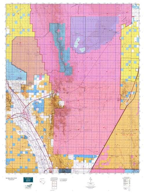 New Mexico GMU 19 North Map  MyTopo