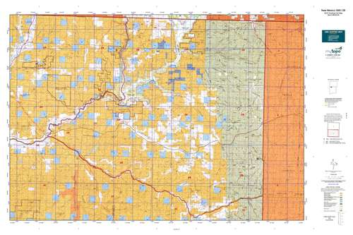 New Mexico GMU 2B Map  MyTopo