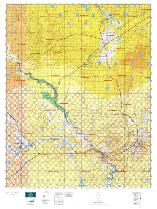wyoming antelope unit map with Hunt Area Unit on Index furthermore Deer And Drilling Revelation Of Mule Deer Stop Over Behavior May Alter Drilling Plans In Bridger Teton Forest also Hunt Area Unit in addition Back From Libby as well Wyoming Topo Map.